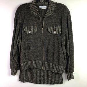 Gold&Black 2pc knit skirt set Size Med